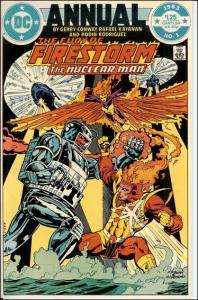 DC THE FURY OF FIRESTORM Annual #1 VF