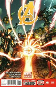 Avengers (5th Series) #8 VF/NM; Marvel   save on shipping - details inside