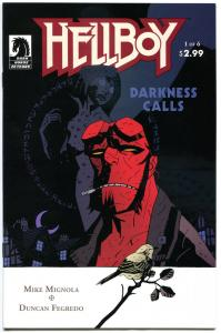 HELLBOY DARKNESS CALLS #1 2 3 4 5 6, NM, Mike Mignola, 2007, more HB in store