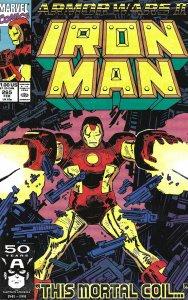 Iron Man #265 (Feb 91) - Iron Man vs. Mandarin & the Marrs Corporation