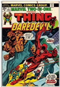 MARVEL TWO IN ONE 3 FN May 1974