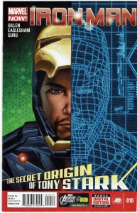 Iron Man #10 (2013 v5) Greg Land Cover NM