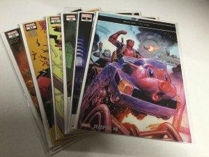 Deadpool 8 9 10 11 12 13 LGY 308-313 Nm Near Mint Marvel Comics