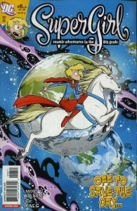 Supergirl: Cosmic Adventures in the 8th Grade #6 VF/NM; DC | save on shipping -