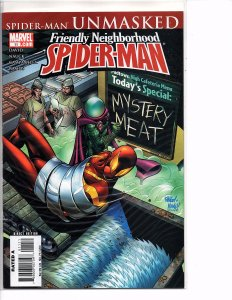 Marvel Comics Friendly Neighborhood Spider-Man #11 Spider-Man Unmasked