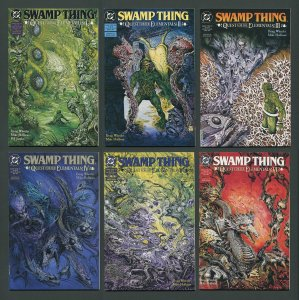 Swamp Thing #104 - #109  Quest for Elementals SET / 9.0 VFN/NM 1991