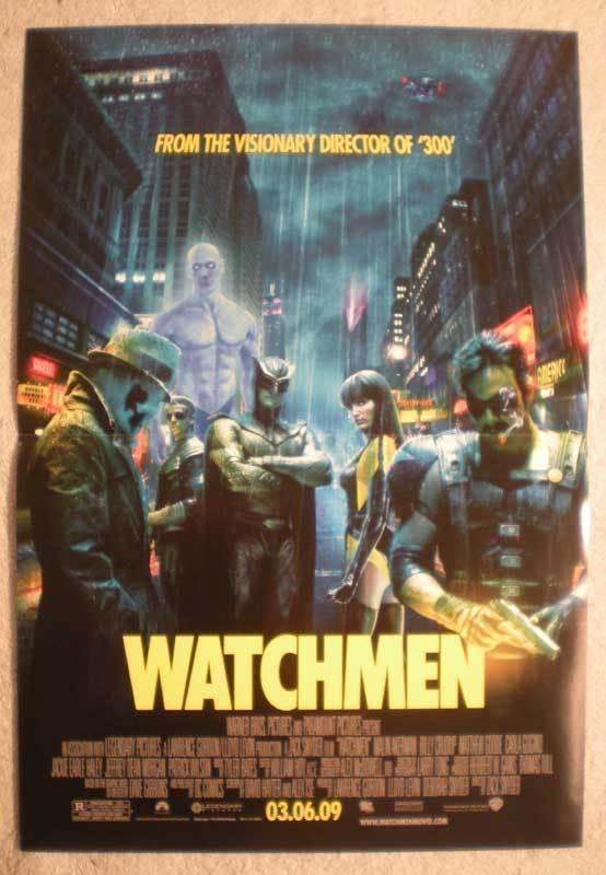 WATCHMEN Promo Poster, Movie,  11x17, 2009, Unused, more Promos in store, gang