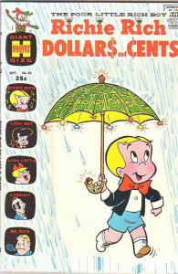 Richie Rich Dollars and Cents #38 (Sep-70) VF+ High-Grade Richie Rich