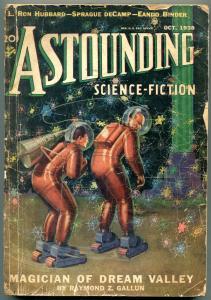Astounding Pulp October 1938- L Ron Hubbard - Eando Binder G