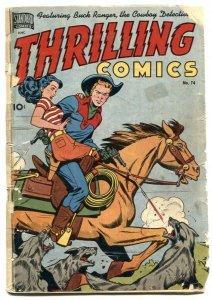 Thrilling Comics #74 1949- Canadian edition- Last Princess Pantha