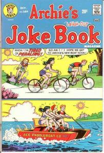 ARCHIES JOKE BOOK (1954-1982)189 VF Oct. 1973 COMICS BOOK