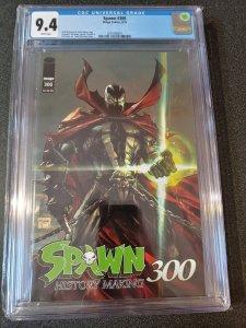 Spawn #300 CGC 9.4 Todd McFarlane Cover A Image Comics 2019