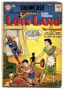 SHOWCASE COMICS #9 1957-First solo LOIS LANE comic book-Rare