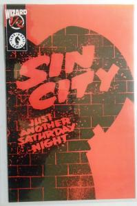 Sin City Just Another Saturday Night Wizard 1/2 #1, 8.0/VF (1987)