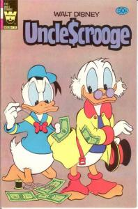 UNCLE SCROOGE 190 F-VF 1981 COMICS BOOK