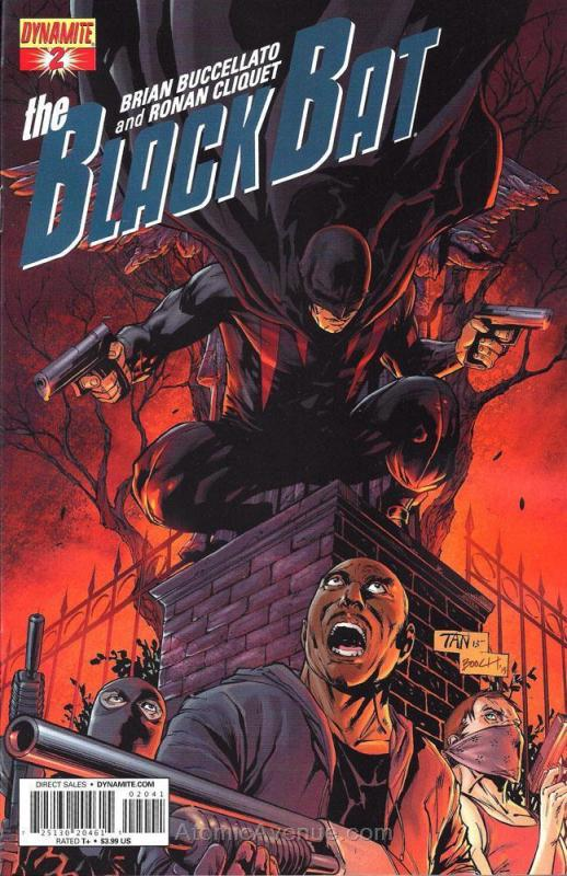 Black Bat, The (Dynamite, Vol. 1) #2D VF/NM; Dynamite | save on shipping - detai