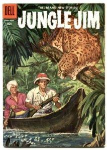 Jungle Jim #8 1956- Dell comics-  FN-