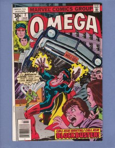 Omega The Unknown #7 VF Marvel 1977