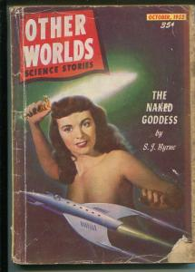 Other Worlds 10/1952 Clark Pub-sci-fi pulp-L Sprague de Camp-G