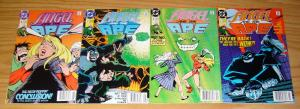Angel and the Ape #1-4 VF/NM complete series - all newsstand variants - foglio