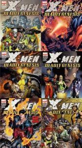 X MEN DEADLY GENESIS (2006) 1-6  complete series! COMICS BOOK