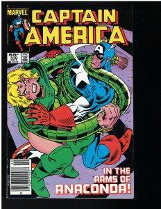 Captain America #310 (Marvel, 1985) - 1st Diamondback II