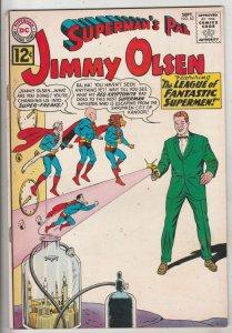 Jimmy Olsen, Superman's Pal  #63 (Sep-63) VF+ High-Grade Jimmy Olsen