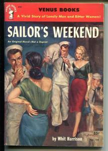Venus Books #153 1952-Star Gudance-Sailor's Weekend-Harry Whittington-VF