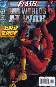Flash: Our Worlds at War #1 VF/NM; DC | save on shipping - details inside