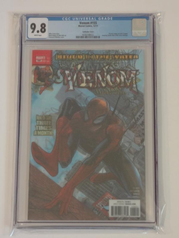 VENOM #155 MATTINA 3D LENTICULAR COVER MARVEL COMIC BOOK NEW 1 NM SPIDER-MAN