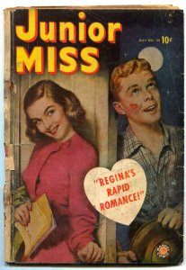 Junior Miss #35 1949- CINDY- Marvel Comics Golden Age POOR