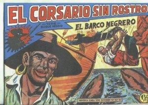 El Corsario sin Rostro, facsimil numero 20: El barco negrero
