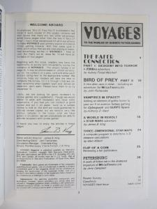 Voyages To the Worlds of Science Fiction Gaming #9 1989 Fanzine Editor- JB King