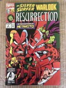 Silver Surfer/Warlock: Resurrection #3 (1993)