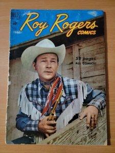 Roy Rogers Comics #26 ~ GOOD GD ~ 1950 Dell Comics