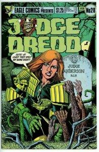 Judge Dredd #28 (1983 Eagle) - 9.2 NM- *The Hotdog Run*