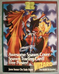 SPAWN Promo poster, Todd McFarlane, 17 x 22, Unused, more Promos in store