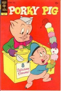 PORKY PIG (1965-1984 GK) 42 VF-NM   June 1972 COMICS BOOK