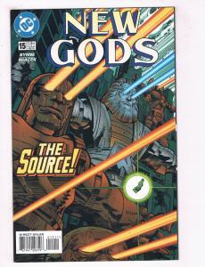 New Gods #15 FN DC Comics Comic Book Byrne Darkseid Superman Feb 1997 DE38 AD11