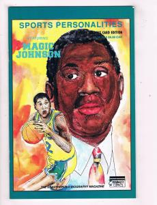 Sport Personalities Featuring Magic Johnson VF Personality Comics DE40 AD14