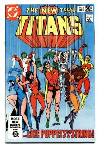 NEW TEEN TITANS #9 comic book DEATHSTROKE issue-Comic Book