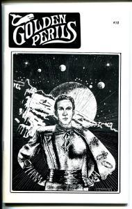 Golden Perils #10 1988-pulp fanzine-Capt Marvel-Pulp Con pix-Rio Kid-NM