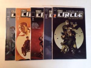 The Circle Goliath Trap 1-5 Complete Near Mint Lot Set Run
