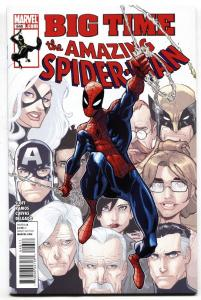 Amazing Spider-Man #649 comic book-2011-New Spidey Suit on cover