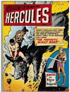 HERCULES (1967-1968 CH) 8 VG- Dec. 1968  (MAGAZINE LO