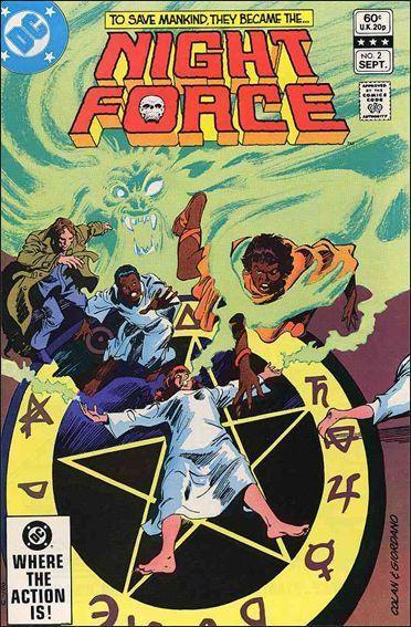 DC NIGHT FORCE (1982 Series) #2 FN