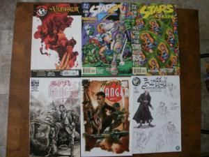 6 Comic: NECROMANCER #6 STARS & STRIPE #2 3 HALF PAST DANGER #3 4 ARTFUL #2