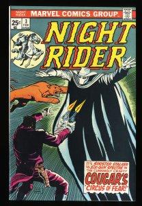 Night Rider #3 NM 9.4