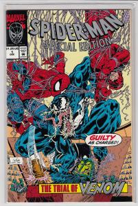 SPIDER-MAN SPECIAL EDITION TRIAL OF VENOM #1 Unicef Mail away NM-