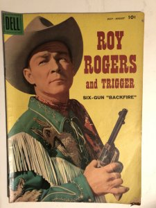 Roy Rogers and Trigger#126,VG-F, nice close-up cover